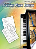 Premier Piano Course Assignment Book  Level 1A 6