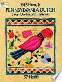 Pennsylvania Dutch Iron-on Transfer Patterns Doves Florals Other Quaint Designs Perfect