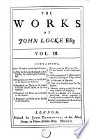 The Works of John Locke Esq