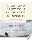 start and grow your faith based nonprofit