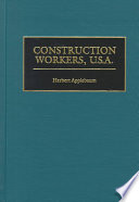 Construction Workers  U S A
