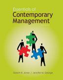 Loose Leaf Essentials of Contemporary Management