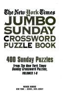 New York Times Jumbo Sunday Crossword Puzzle Book