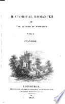 Historical Romances Of The Author Of Waverley