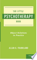The Little Psychotherapy Book Relations This Concise Work Introduces The