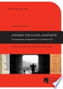 Offering the Gospel ADAPANON