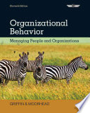 Organizational Behavior  Managing People and Organizations