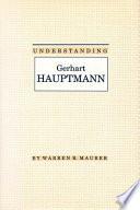 Understanding Gerhart Hauptmann