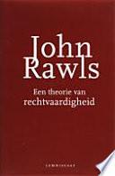 Rawls Een Theorie Van Rechtvaardigheid