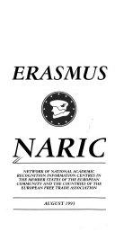 Erasmus NARIC