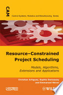 Resource Constrained Project Scheduling
