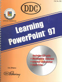 Learning Microsoft Powerpoint 97
