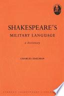 Shakespeare s Military Language Book PDF
