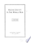 Racine County in the World War