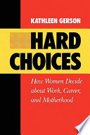 Ebook Hard Choices Epub Kathleen Gerson Apps Read Mobile