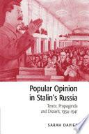 Popular Opinion in Stalin s Russia
