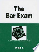 Darrow Kleinhaus  The Bar Exam in a Nutshell  2d