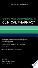 Oxford American Handbook of Clinical Pharmacy