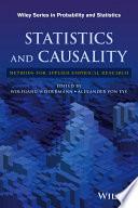 Statistics and Causality