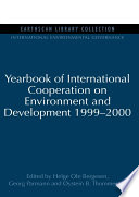 Yearbook of International Cooperation on Environment and Development 1999 2000