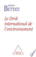 Droit International De L Environnement Le