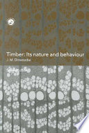 Timber  Its Nature and Behaviour  Second Edition