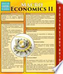 Macro Economics ll  Speedy Study Guides