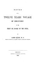 download ebook notes of a twelve years\' voyage of discovery in the first six books of the eneis pdf epub