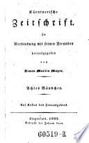 Kärntnerische Zeitschrift ... hrsg. von Johann Gottfried Kumpf