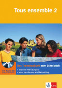 Tous ensemble 2  Das Trainingsbuch mit Audio CD