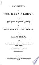 Proceedings of the Grand Lodge