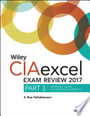 Wiley CIAexcel Exam Review 2017  Part 3