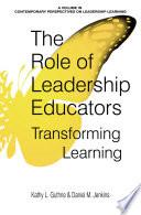 The Role of Leadership Educators