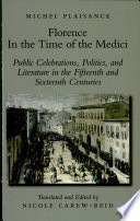 Florence In The Time Of The Medici