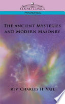 download ebook the ancient mysteries and modern masonry pdf epub