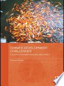 China s Development Challenges