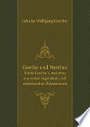 Goethe und Werther