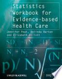 Statistics Workbook for Evidence based Health Care