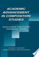 Academic Advancement In Composition Studies