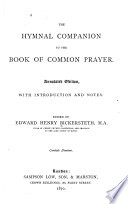 The Hymnal Companion to the Book of Common Prayer