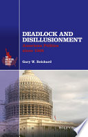 Ebook Deadlock and Disillusionment Epub Gary W. Reichard Apps Read Mobile