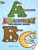 Alphabetimals Coloring Book