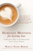 Marriage Meetings For Lasting Love : peers divorce and are themselves the products of...