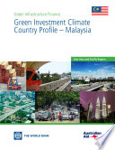 Ebook Green Investment Climate Country Profile – Malaysia Epub Aldo Baietti, Andrey Shlyakhtenko and Roberto La Rocca Apps Read Mobile
