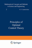 """""""Principles of Optimal Control Theory"""" Cover"""