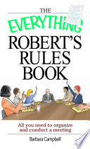 The Everything Robert s Rules Book