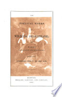 Dramatic Works ...: The poetical works of William Shakspeare; with notes illustrative and explanatory; together with a supplementary notice to the Roman plays