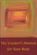 Book The Creator's Manual for Your Body
