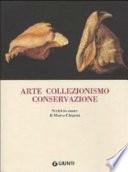 Arte  collezionismo  conservazione