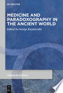 Medicine and Paradoxography in the Ancient World Book PDF